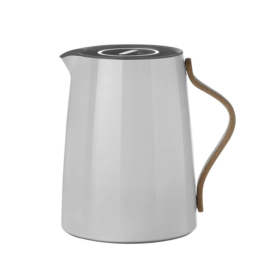 Termoska na čaj Emma, 1 l, šedá