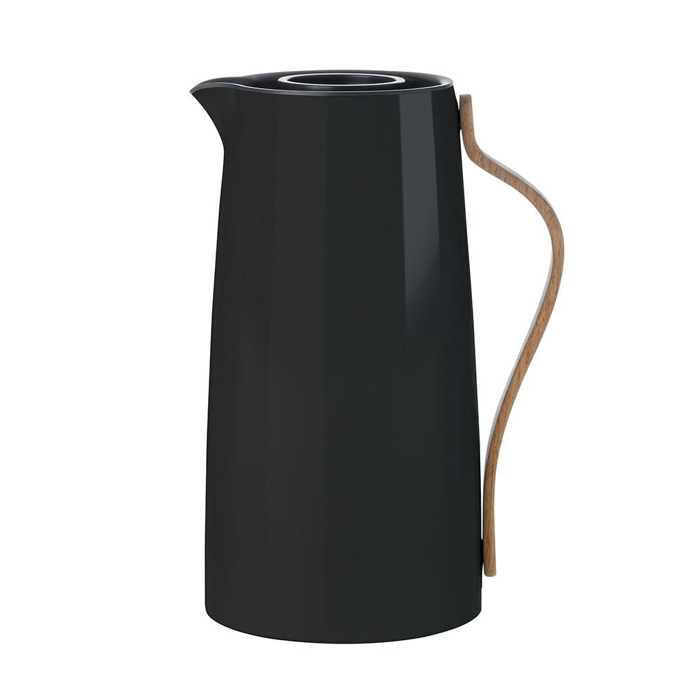 Termoska na kávu Emma, 1,2 l, černá