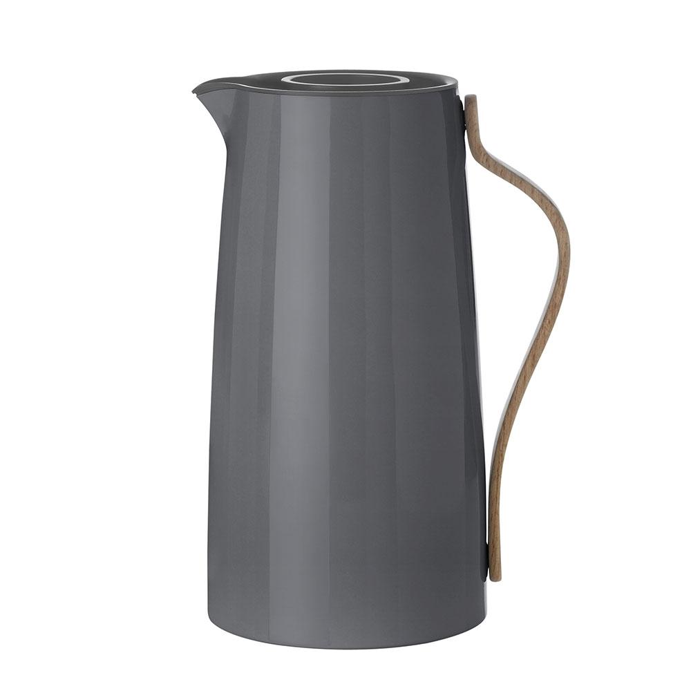 Termoska na kávu Emma, 1,2 l, šedá