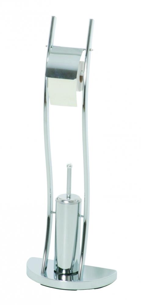 Toaletní stojan Edwic, 92 cm, chrom