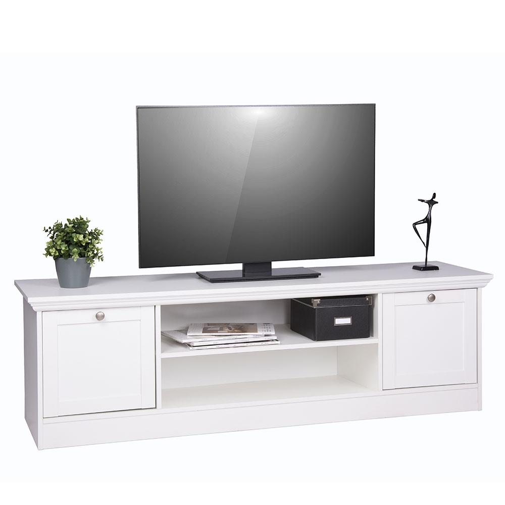 TV stolek Country s dvířky a policí, 160 cm