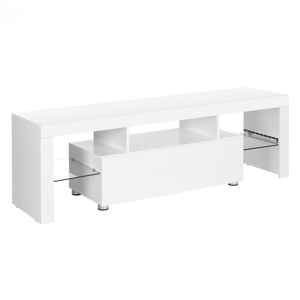 Tv stolek Ellie, 140 cm, bílá