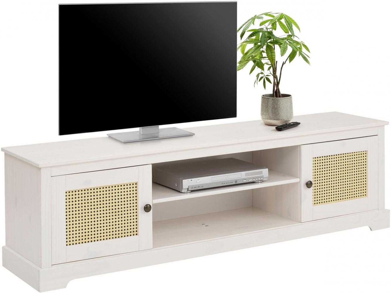 Tv stolek Kiria, 175 cm, bílá
