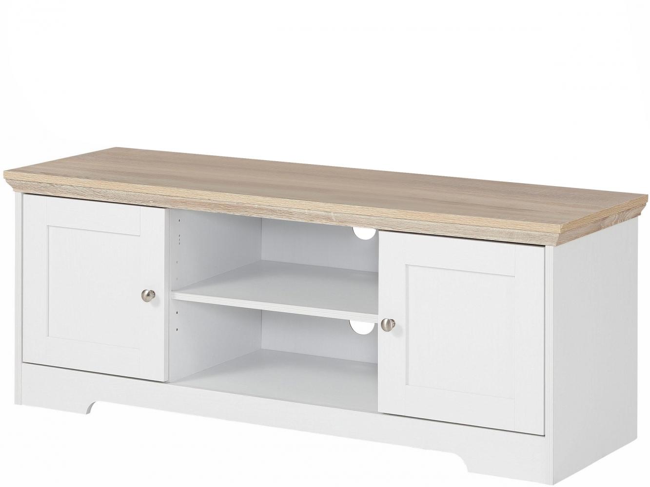 Tv stolek Nana, 120 cm, bílá