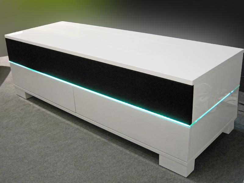 u ite n tv stolek s led diodami a bluetooth bonnie 120. Black Bedroom Furniture Sets. Home Design Ideas