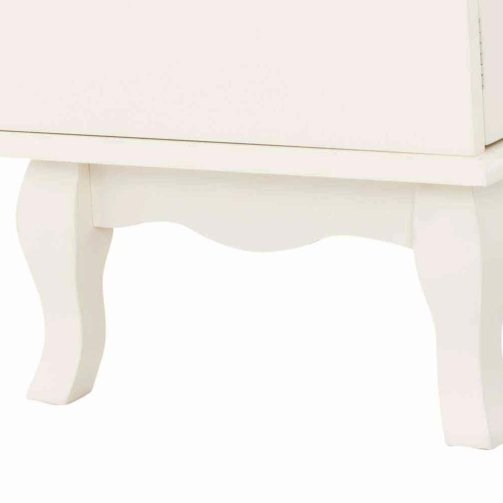 TV stolek s policí a dveřmi Juliet, 120 cm