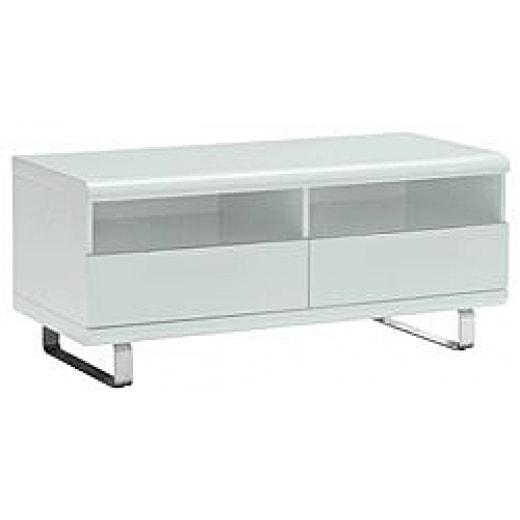 modern tv stolek se z suvkami a policemi porto 120 cm tv stolky. Black Bedroom Furniture Sets. Home Design Ideas