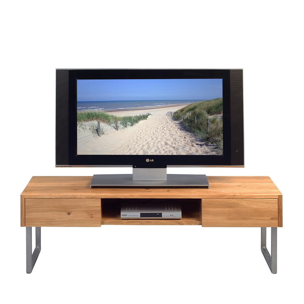 tv stol k so z suvkami tessa 120 cm mas v nerez design outlet. Black Bedroom Furniture Sets. Home Design Ideas