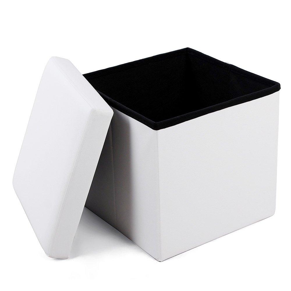 Úložný box Genys, 38 cm, bílá