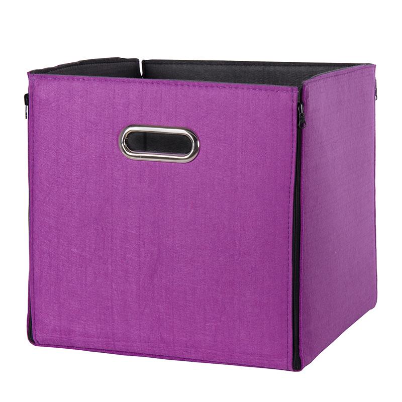 Úložný box oboustranný Beta 1, 32 cm, ostružina/antracit