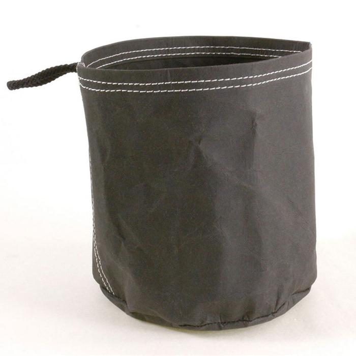 Úložný vak z recyklovaného papíru Papper L, černá