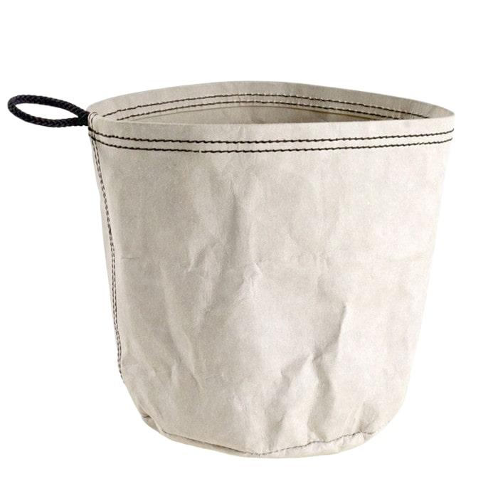 Úložný vak z recyklovaného papíru Papper L, šedá