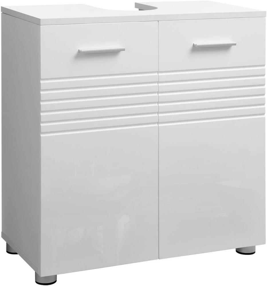 Umyvadlová skříňka Helmut, 63 cm, bílá