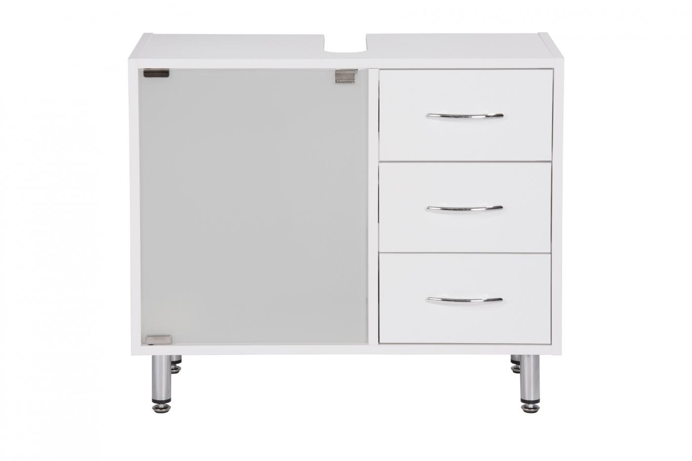 Umyvadlová skříňka Jella, 66 cm, bílá