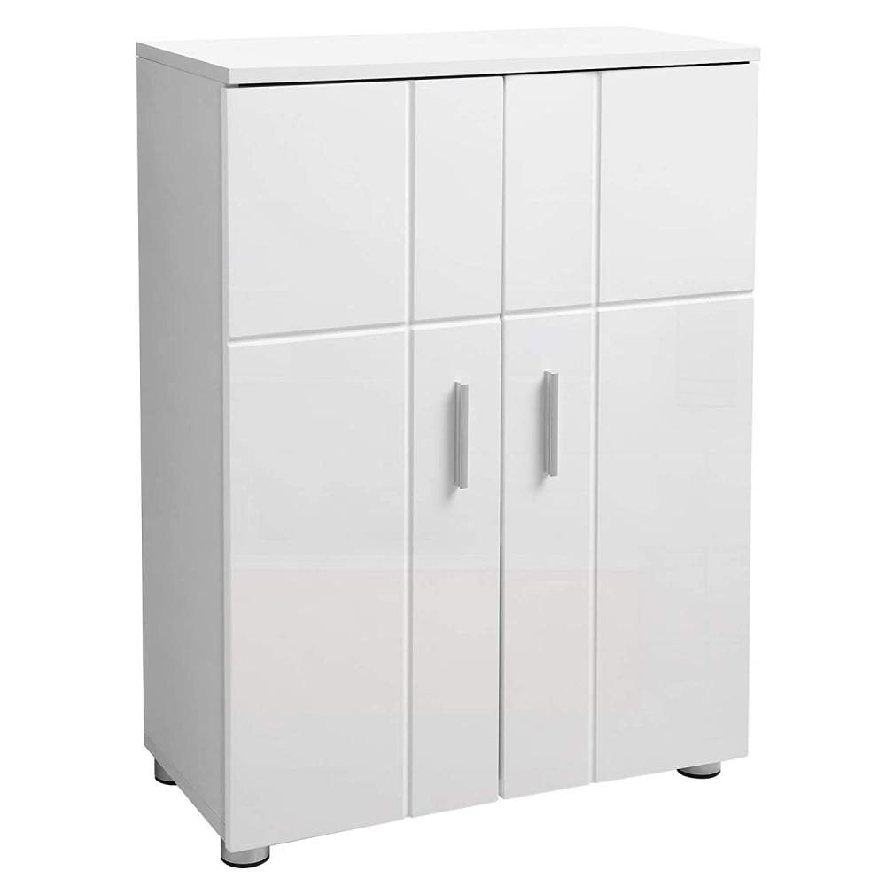 Umyvadlová skříňka Leris, 82 cm, bílá