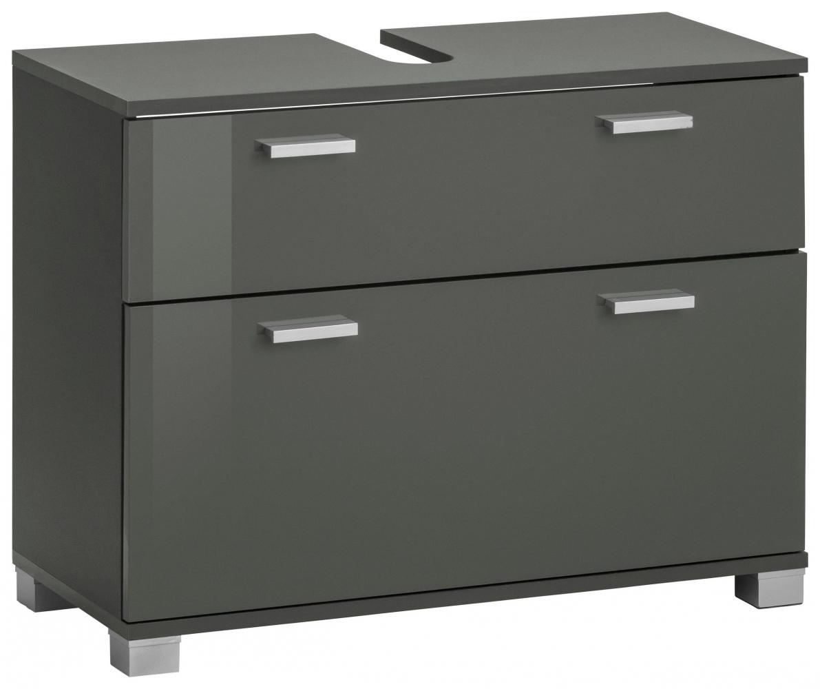 Umyvadlová skříňka Ronda, 70 cm, šedá