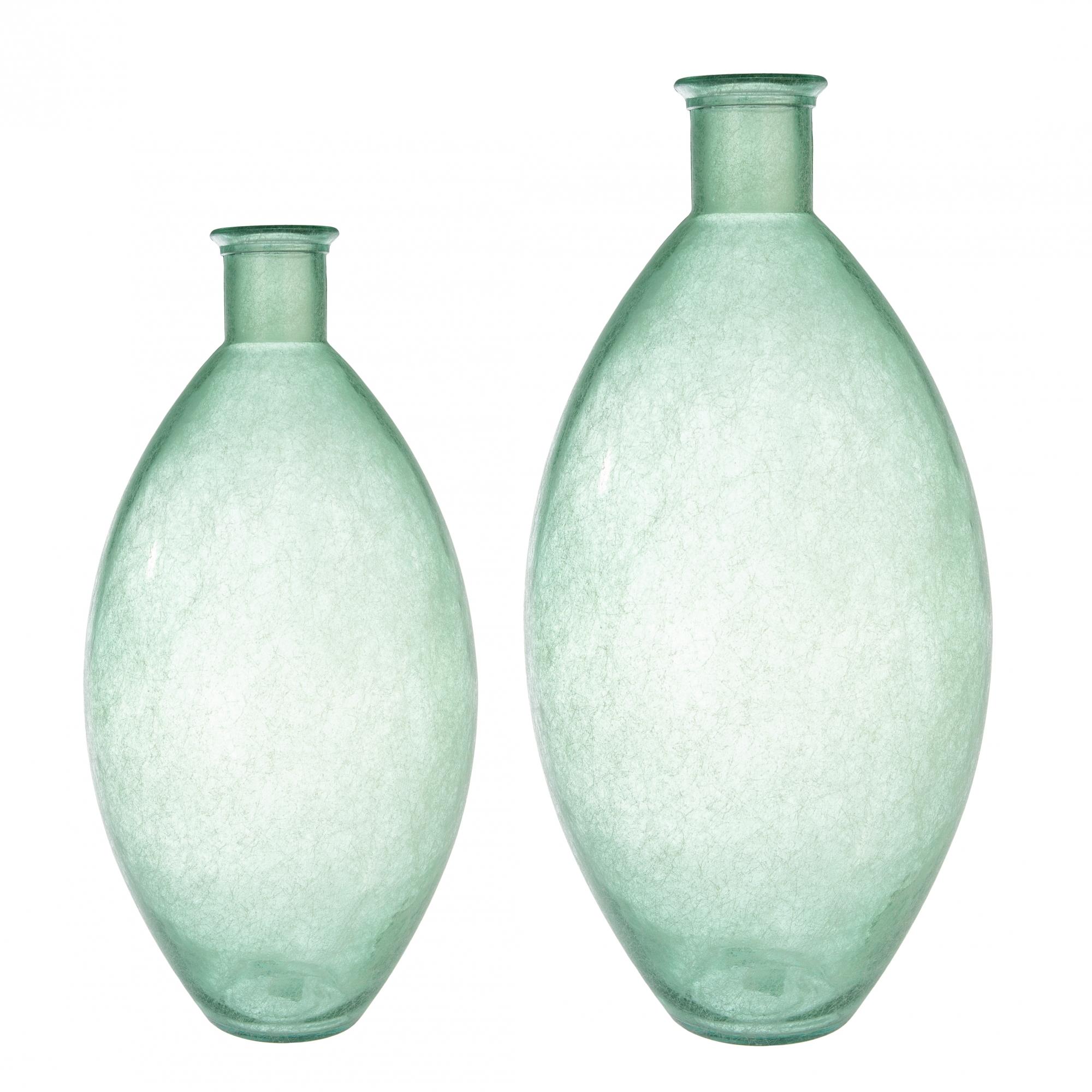 Váza Dino, 59 cm, zelená