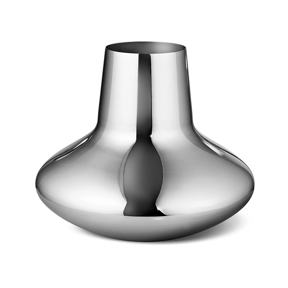 Váza Henning Koppel, 27 cm, nerez