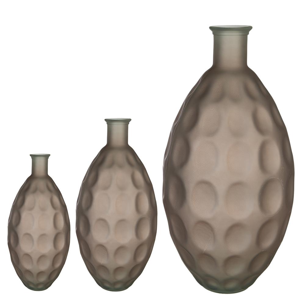 Váza Hugo, 38 cm, béžová