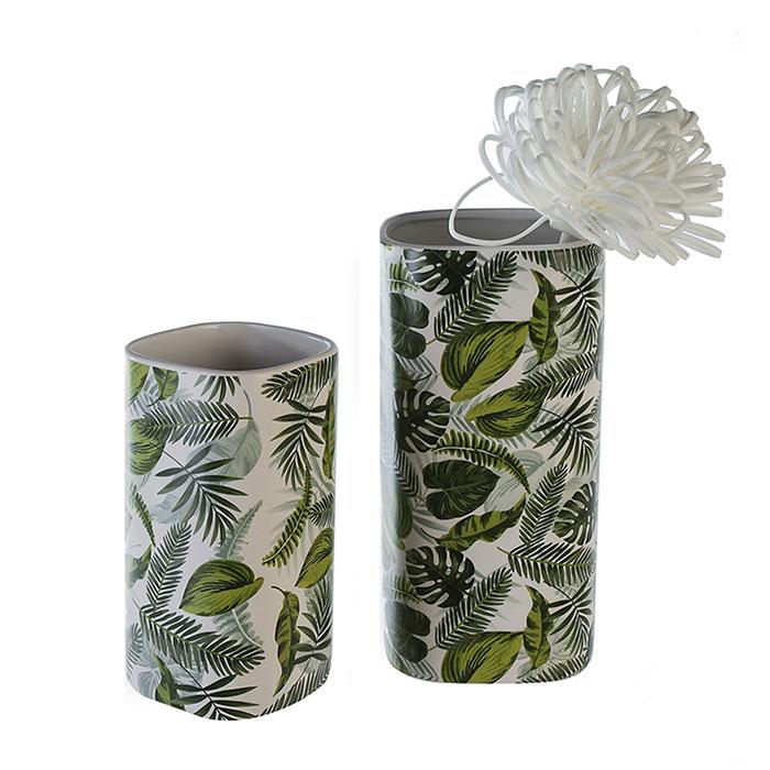 Váza keramická Greenery, 26 cm
