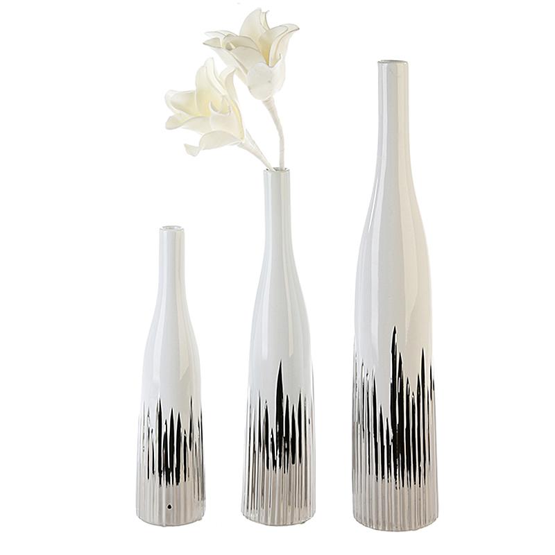 Váza keramická Mikado, 41 cm