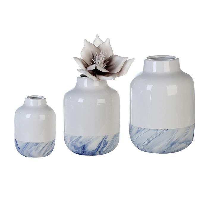 Váza porcelánová Blue, 16,5 cm