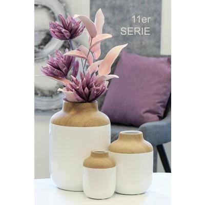 Váza porcelánová Madera, 31 cm