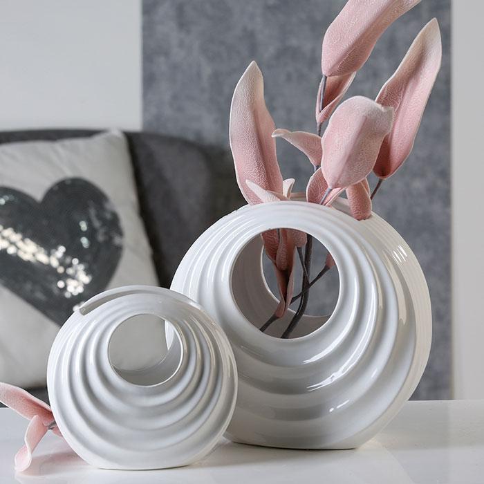 Váza porcelánová Milo, 17 cm