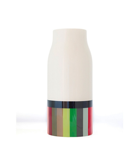Váza porcelánová Stripes, 25,5 cm