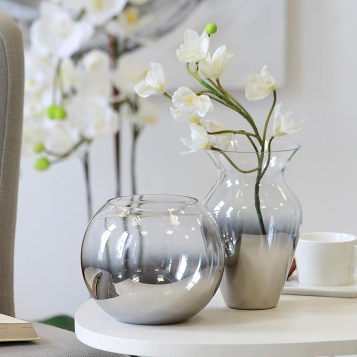 Váza skleněná Combi vysoká, 19 cm