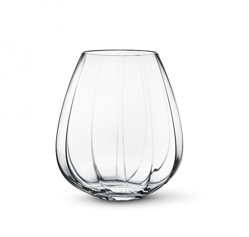 Váza skleněná Facet, velká
