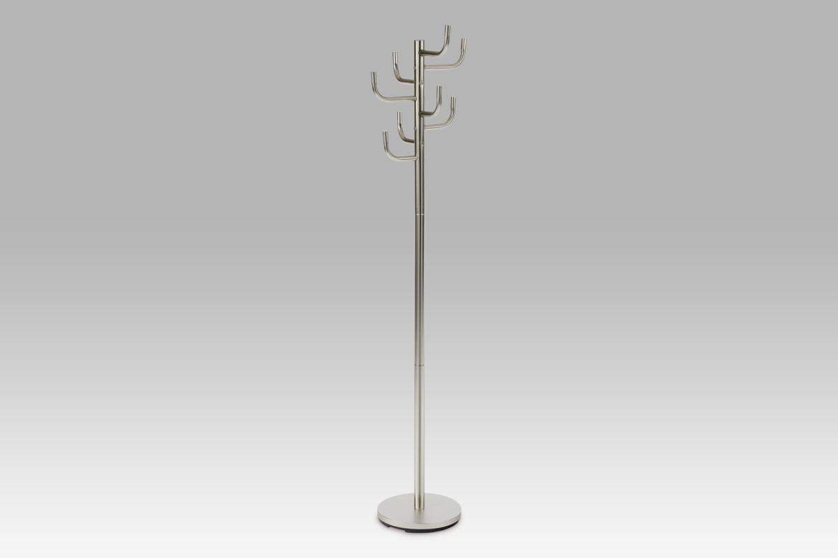 Věšák kovový Paulo, 175 cm, šedá