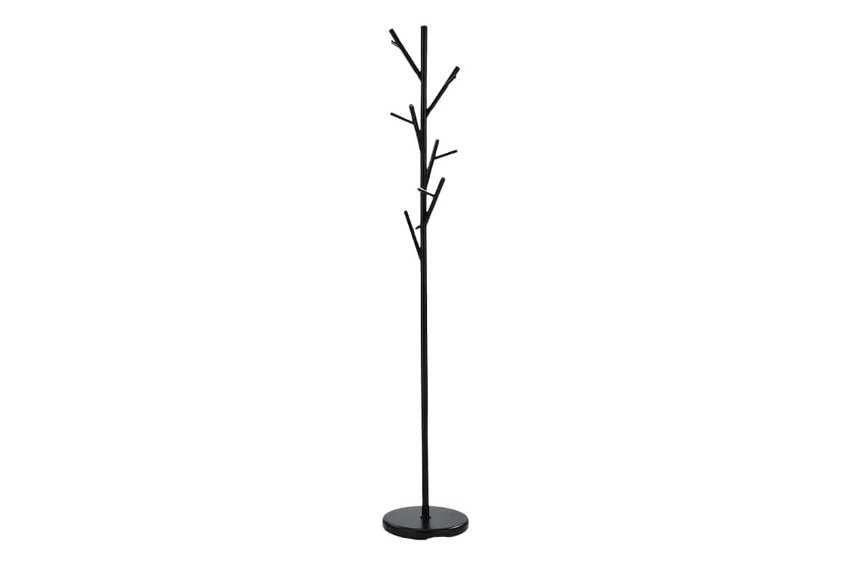 Věšák kovový Victor, 170 cm, černá