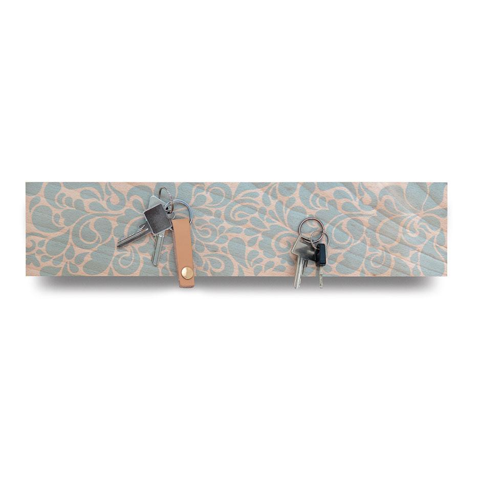 Věšák na klíče magnetický Florina, 41 cm