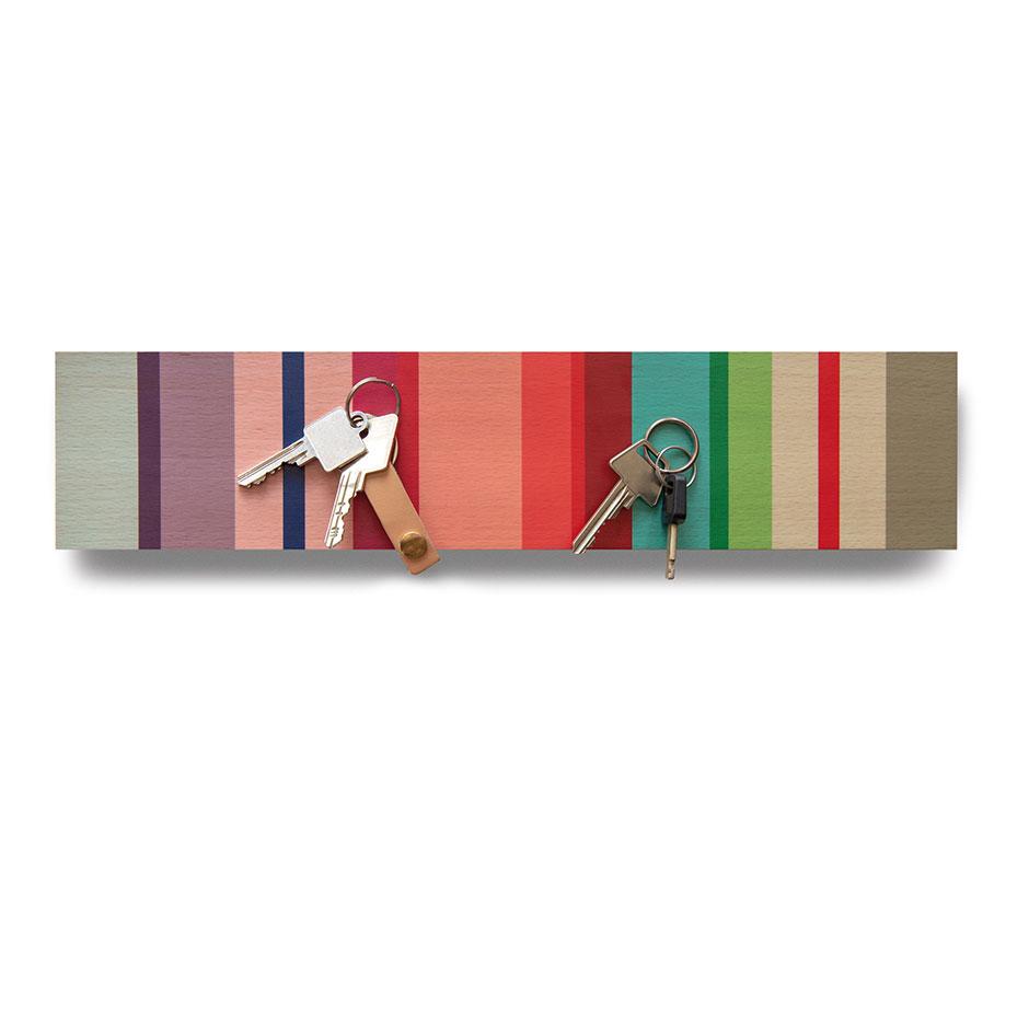 Věšák na klíče magnetický Selva, 41 cm