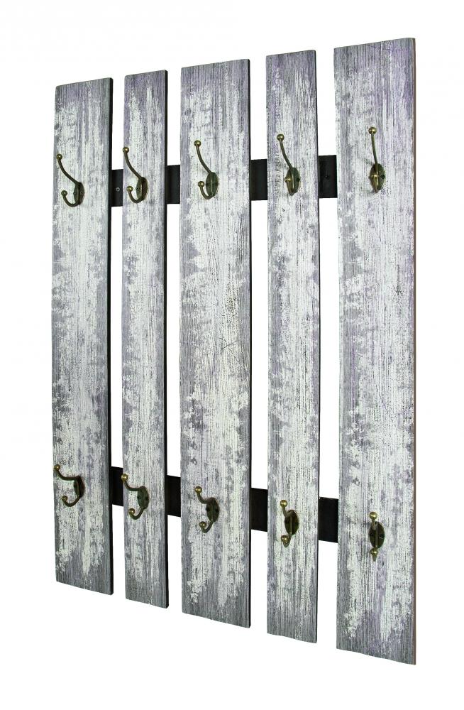 Věšáková stěna Silasia II, 100 cm, bílá