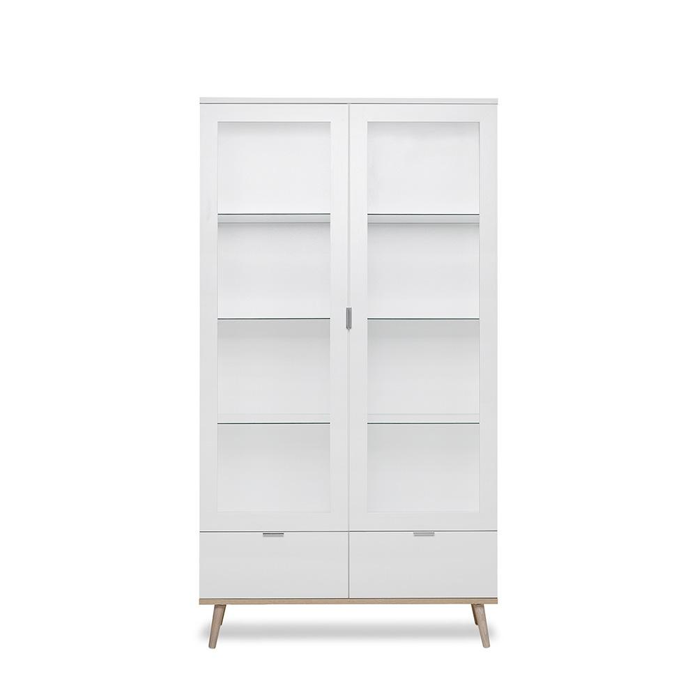 Vitrína / prosklená skříň Houston, 185 cm