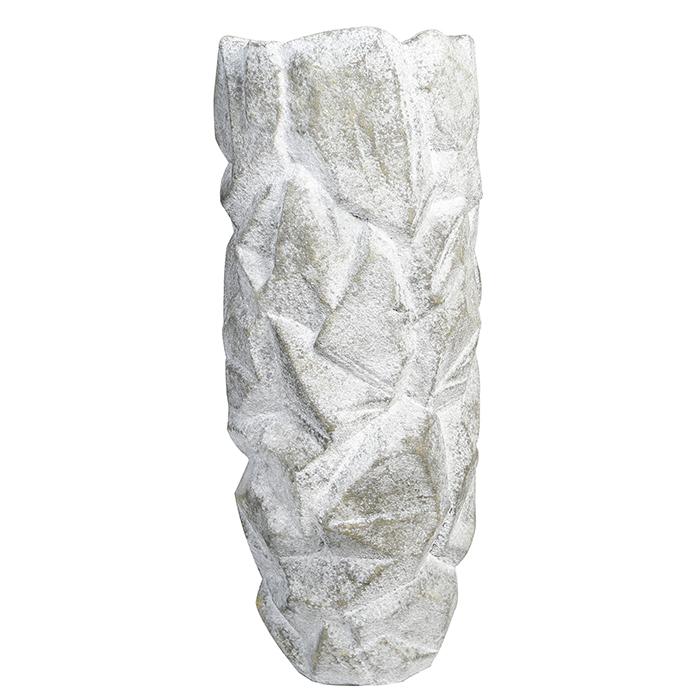 Zahradní váza Deren, 90 cm, šedá