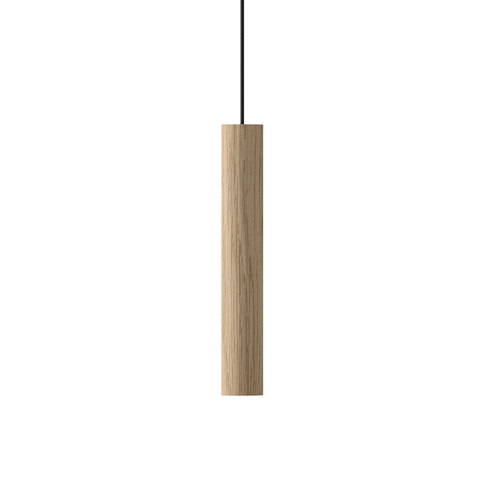 Závěsná lampa VITA Chimes, dub
