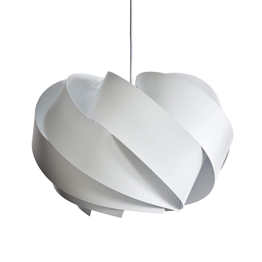 Závěsné svítidlo / lustr DybergLarsen Boleo, 50 cm, bílá