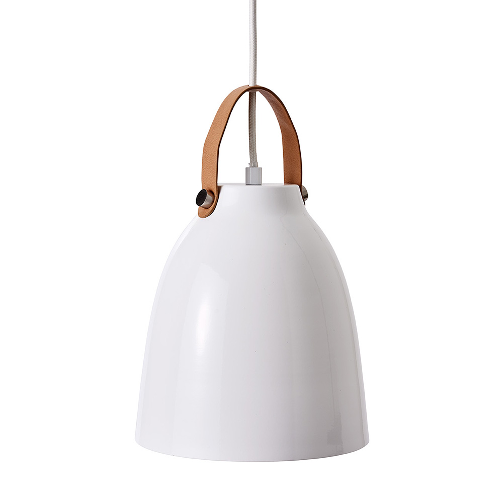 Závěsné svítidlo / lustr Copenhagen, 18 cm, bílá