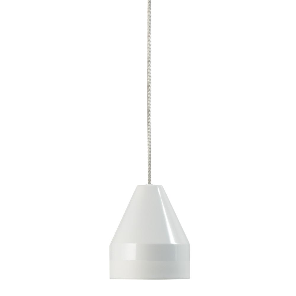 Závěsné svítidlo / lustr Crayon, 15 cm, bílá