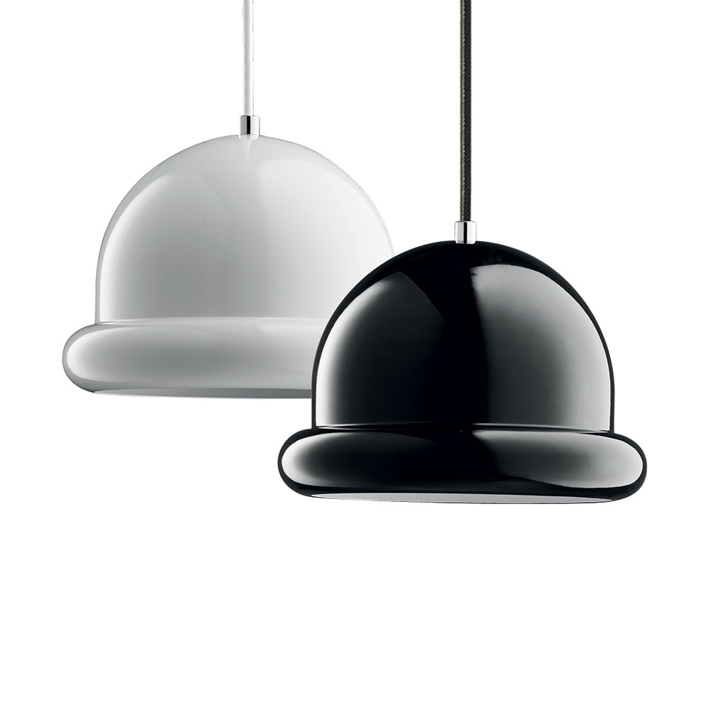 Závěsné svítidlo / lustr Hattrick, 23 cm, bílá