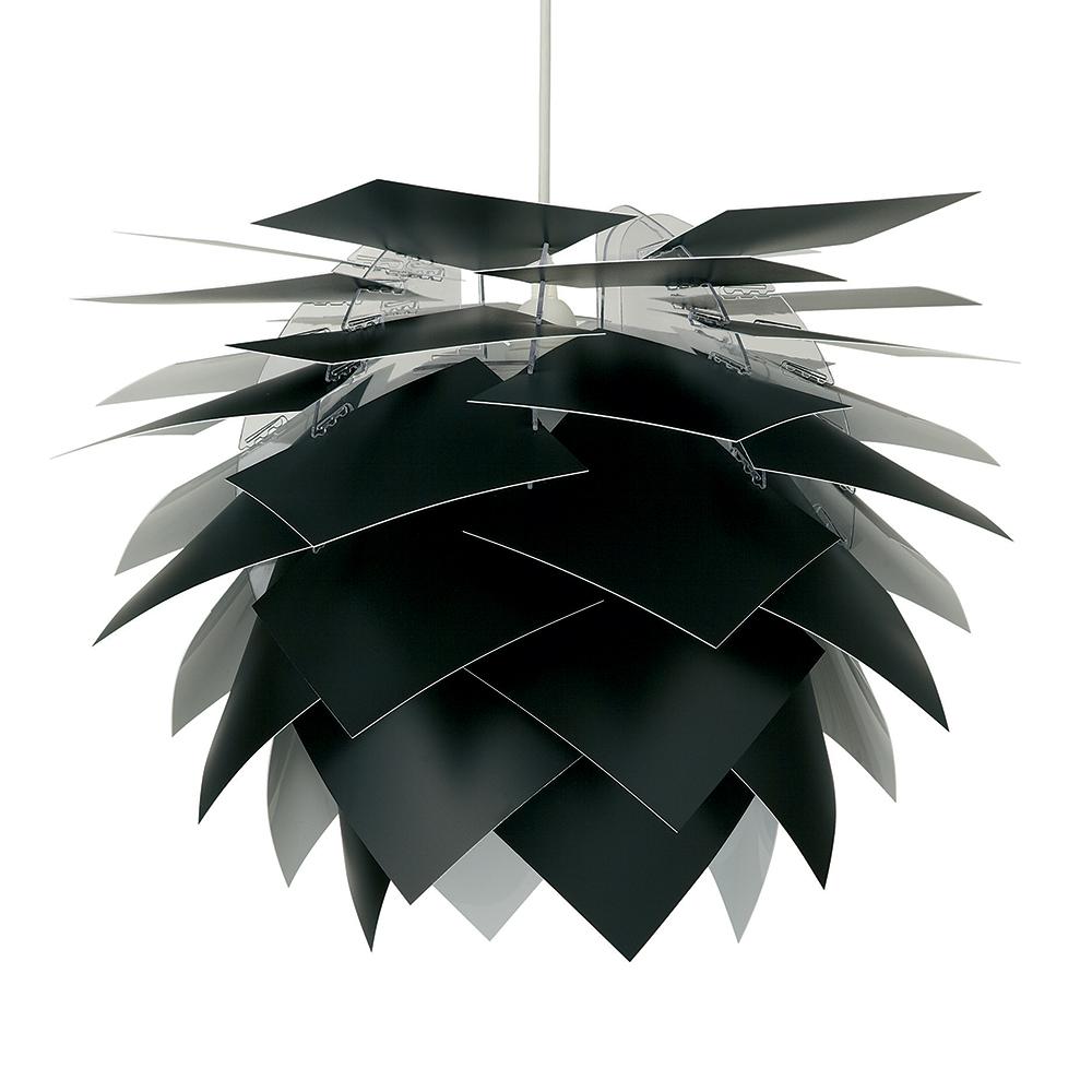 Závěsné svítidlo / lustr Illumin, 45 cm, černá