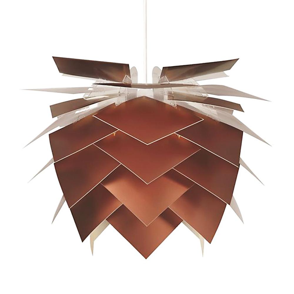 Závěsné svítidlo / lustr Illumin, 45 cm, měď