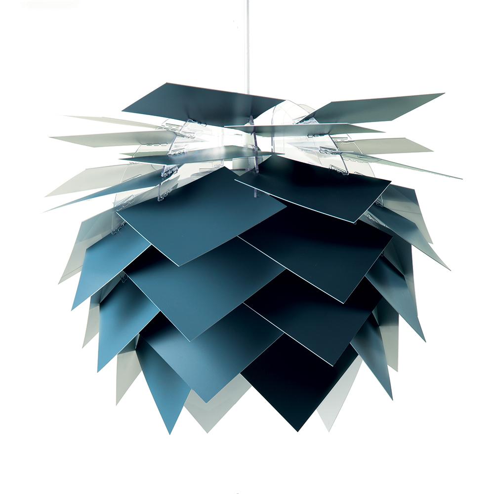 Závěsné svítidlo / lustr DybergLarsen Illumin, 45 cm, tmavě modrá