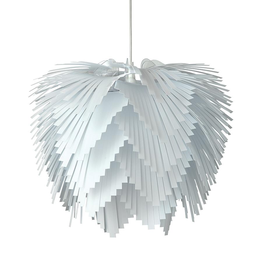 Závěsné svítidlo / lustr Illumin Cascade, 45 cm, bílá