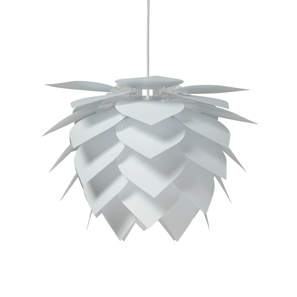 Závěsné svítidlo / lustr Illumin Drip/Drop, 35 cm, bílá