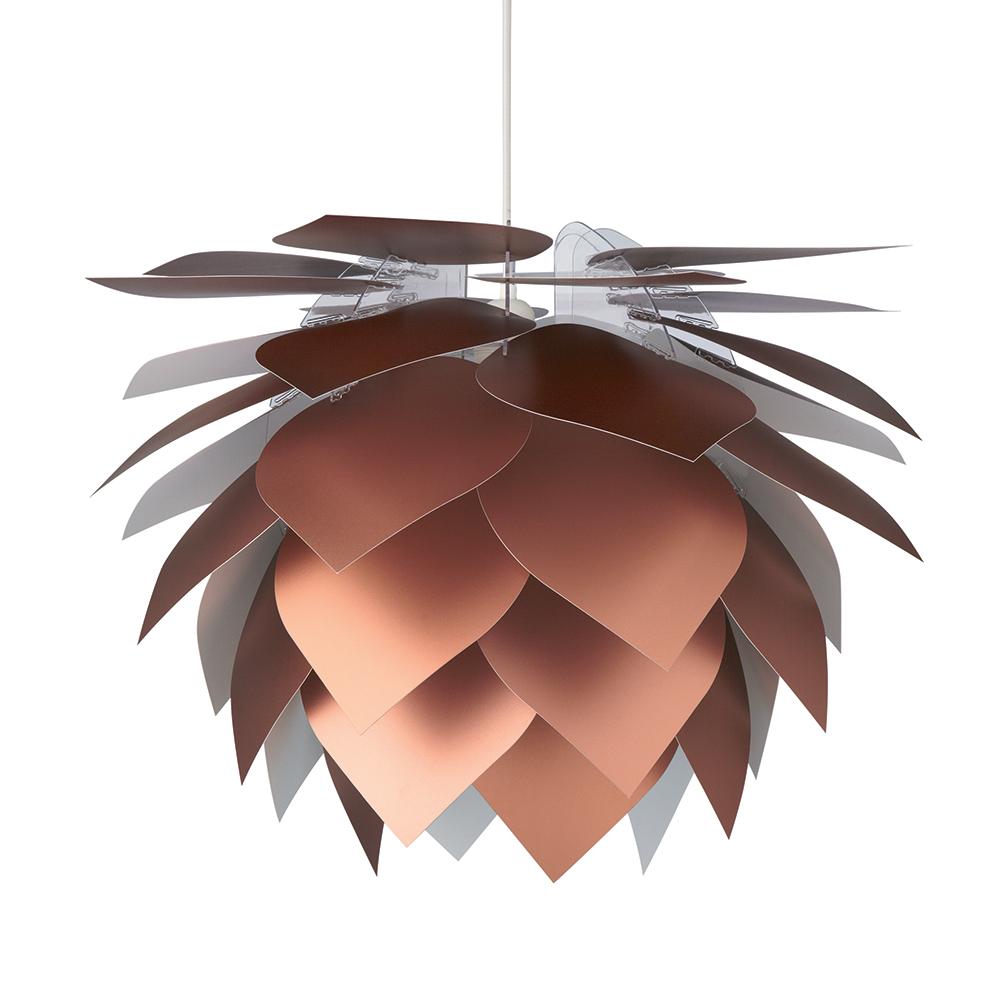 Závěsné svítidlo / lustr Illumin Drip/Drop, 45 cm, měď