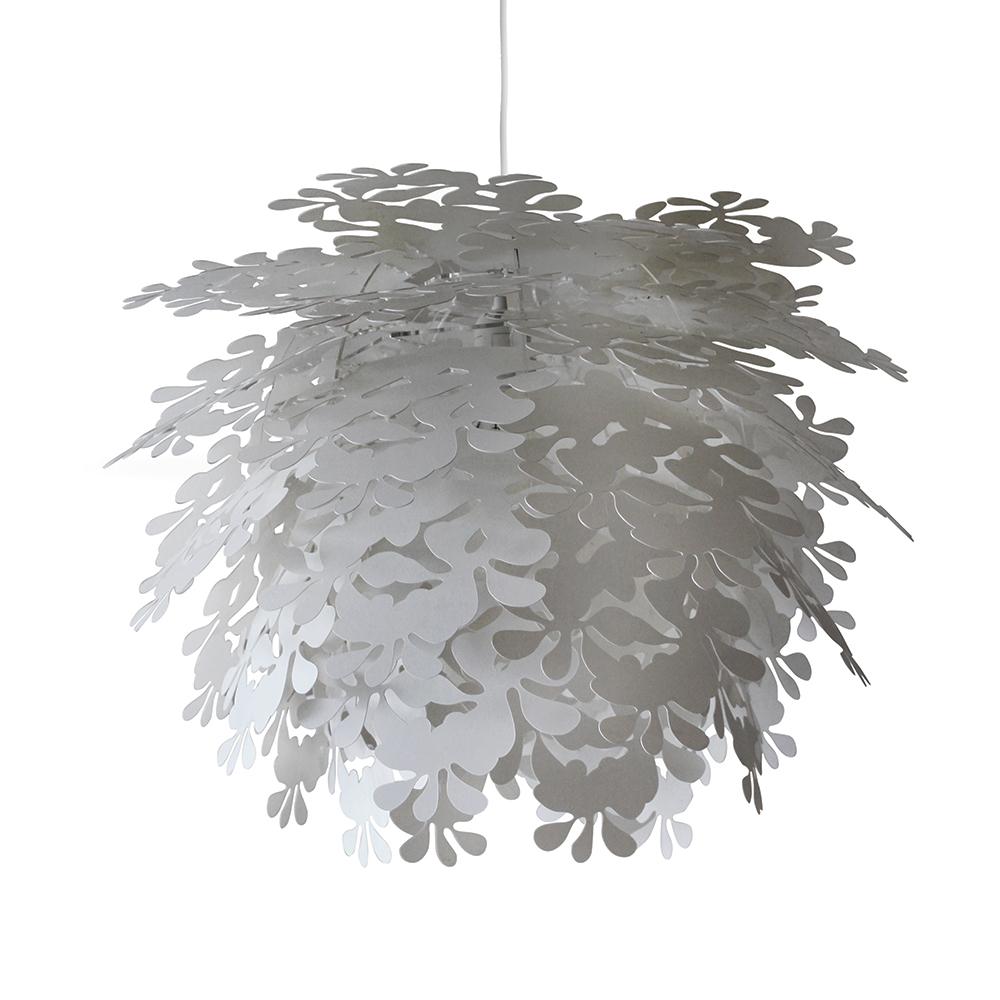 Závěsné svítidlo / lustr Illumin Flower, 45 cm, bílá